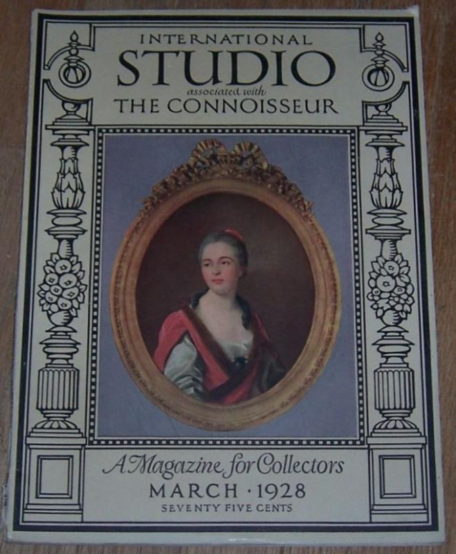 International Studio with Connoisseur Magazine March 1928  English Furniture