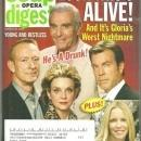 Soap Opera Digest March 25, 2008 Look Who's Alive on Young and Restless on Cover