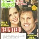 Soap Opera Digest March 11, 2008 Lily and Holden Reunited on ATWT on the Cover