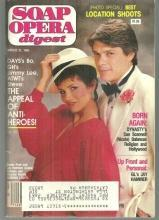 Soap Opera Digest Magazine March 12, 1985 Susan Pratt and Jay Hammer From GL