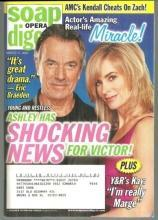 Soap Opera Digest Magazine March 17, 2009  Ashley Has Shocking News for Victor