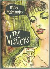 The Visitors by Mary McMinnies 1958 1st American Edition with Dust Jacket