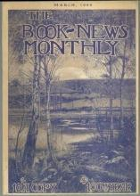 Book News Magazine March 1909 Maurice Maeterlinck and Stratford on Avon