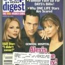 Soap Opera Digest March 26, 2002 Alexis, Carly and Sonny from General Hospital