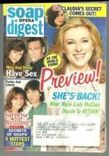 Soap Opera Digest Magazine March 24, 2009 As the World Turns Preview on Cover