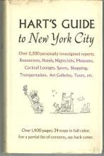 Hart's Guide to New York City Illustrated by Ruby Davidson and Hilda Simon 1964