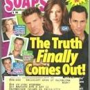 ABC Soaps in Depth Magazine April 20, 2009 General Hospital The Truth Finally