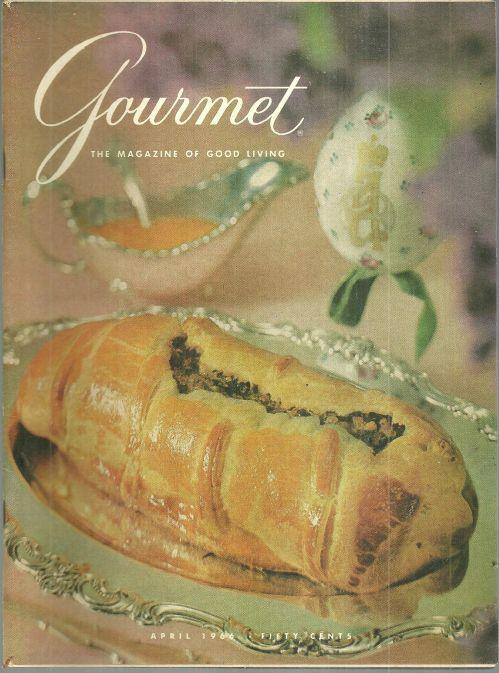 Gourmet Magazine April 1966 Feasting in Old Russia, Raising Cane, Maxim's