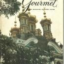 Gourmet Magazine April 1972 Barcelona's Gothic Quarter and Wines of Hungry