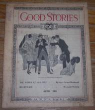 Good Stories Magazine April 1928 Joseph Hocking, Recipes, Household