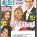 Soap Opera Digest Magazine April 22, 2008 As the World Turns Wedding on Cover
