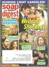 Soap Opera Digest April 21, 2009  Guiding Light Wedding Shocker on Cover