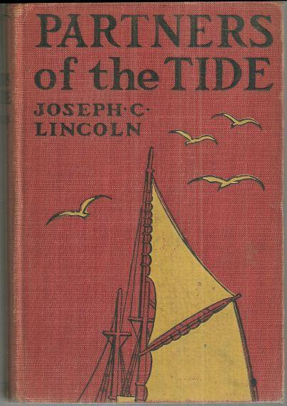 Partners of the Tide by Joseph Lincoln 1921 Cape Cod Novel