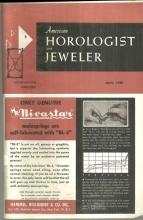 American Horologist and Jeweler Magazine April 1960 Vernier Principle/ Pearls
