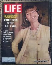 Life Magazine August 30, 1963 New Fashions From Paris on cover