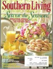 Southern Living Magazine April 2011 Savor the Season on the Cover/Savannah