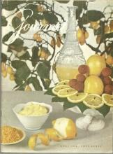Gourmet Magazine April 1960 Easter in Italy, Herb Garden, Shad, Lemon Aids