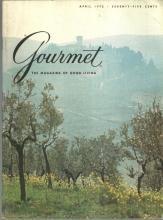 Gourmet Magazine April 1975 Chianti Classico, Stockholm, The Vegetable Garden