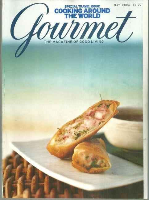 Gourmet Magazine May 2004 Special Travel Issue, Cooking Around the World