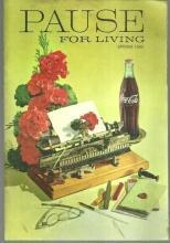 Pause for Living Coca Cola Magazine Spring 1969 Egg/Kitchen Raid/Spring Swinger