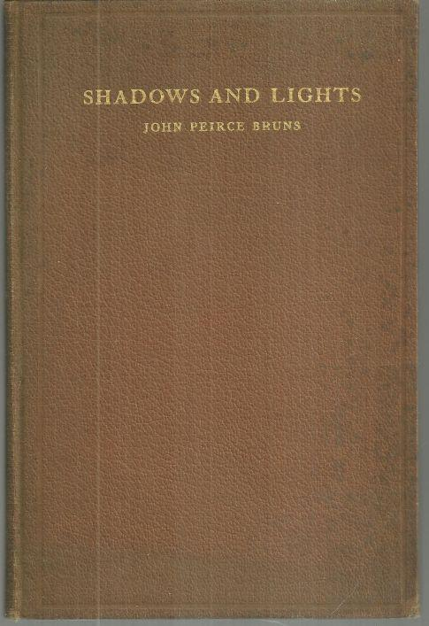 Shadows and Lights by John Peirce Burns 1927 Poetry