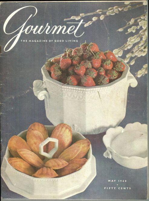 Gourmet Magazine May 1960 The Taste of Spring, Fishes, The Bordeaux, Salads