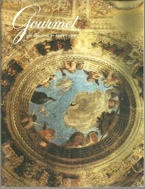 Gourmet Magazine May 1983 Palazzo Ducale on Cover/Derby Cocktails/Spring