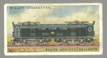 Vintage Wills' Cigarette Card for South African Railway. #45 of a Series of 50
