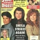 Soap Opera Digest Magazine November 9, 1993 Shelia Strikes Again on the Cover