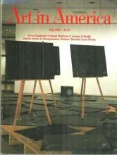 Art in America Magazine May 1986 Equitable Tower/Jennifer Bartlett/Montparnasse