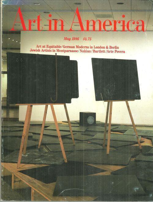 Art in America Magazine May 1986 Equitable Tower/Jennifer Bartlett/Montparnasse