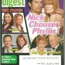 Soap Opera Digest Magazine May 5, 2009 Young and Restless Nick Chooses Phyllis