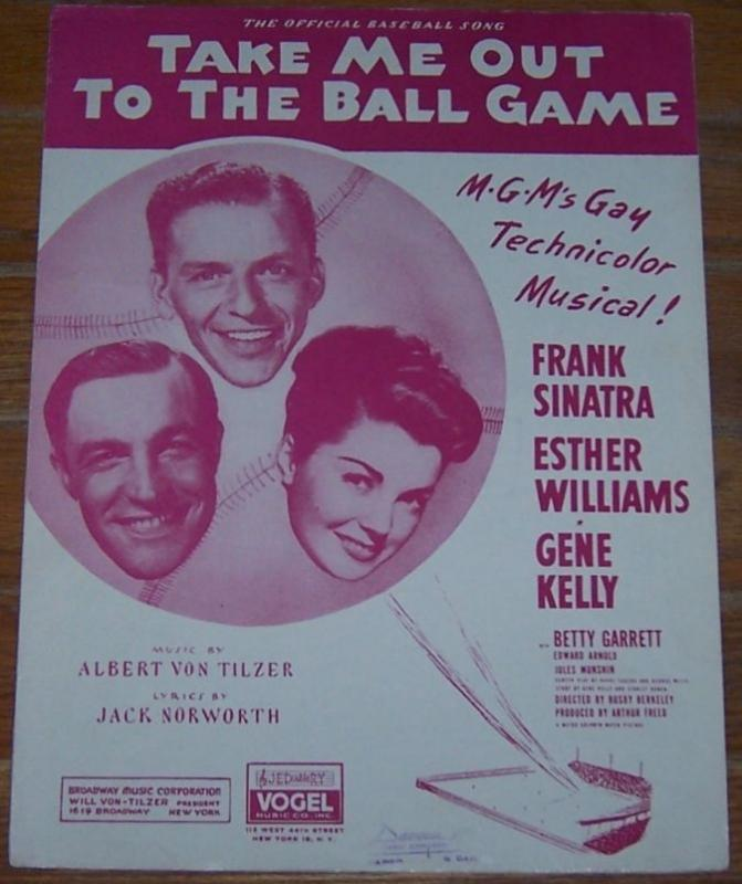 Take Me out to the Ball Game the Official Baseball Song From the Musical 1936