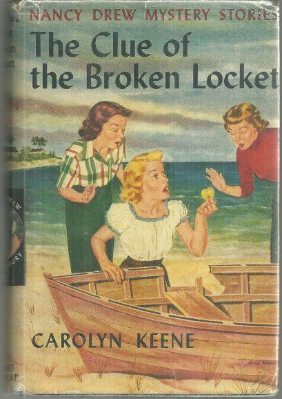 Clue of the Broken Locket by Carolyn Keene Nancy Drew #11 with Dust Jacket