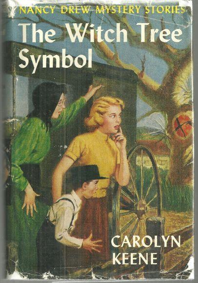 Witch Tree Symbol by Carolyn Keene Nancy Drew #33 with Dust Jacket