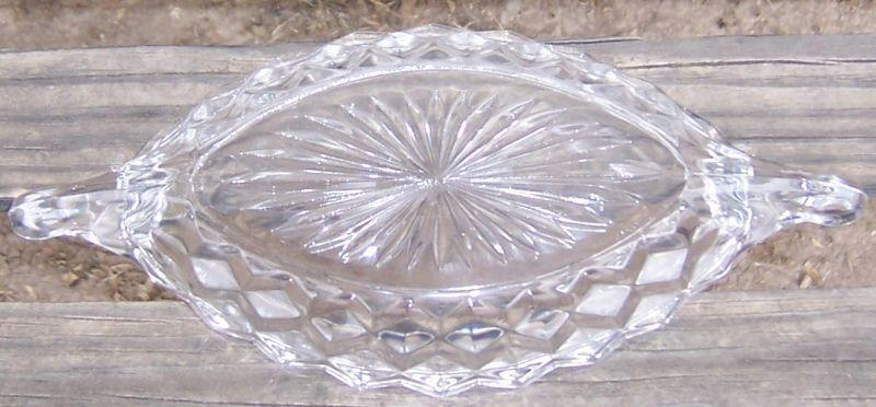 Vintage American Fostoria Clear Glass 8
