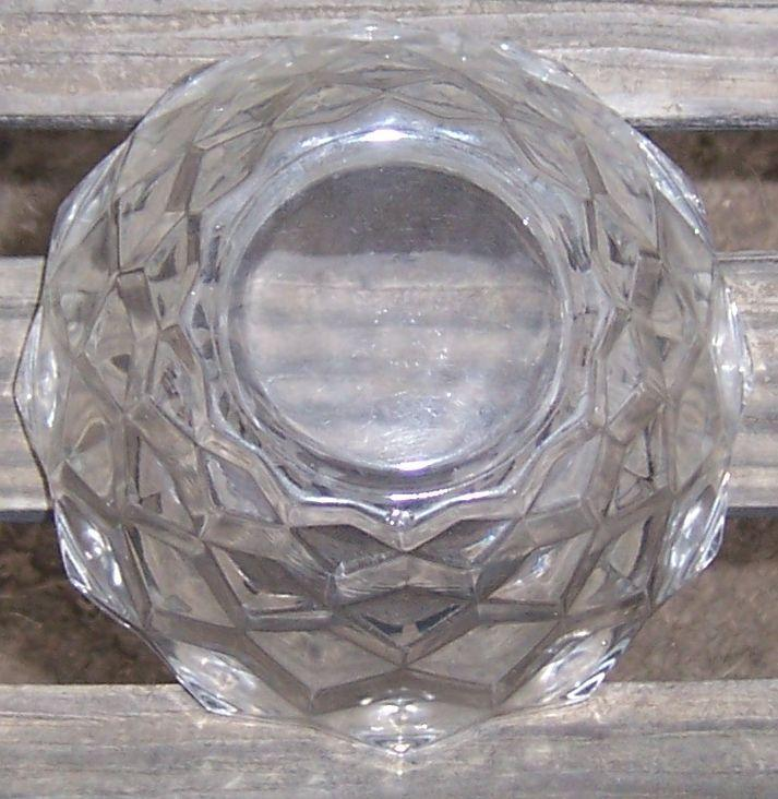 Vintage American Fostoria Clear Glass 5