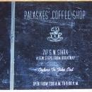 Vintage Menu for Palaskes' Coffee Shop, 717 S. W. Stark, Portland, Oregon