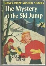 Mystery at the Ski Jump by Carolyn Keene Nancy Drew #29 with Dust Jacket 1952