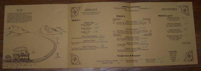 Vintage Menu for Iron Mike, 1155 South Broad Street, Fremont/Inglewood, Nebraska