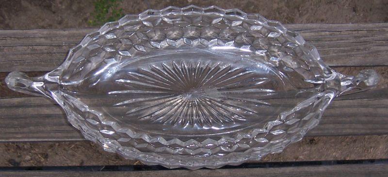 Vintage American Fostoria Clear Glass 12