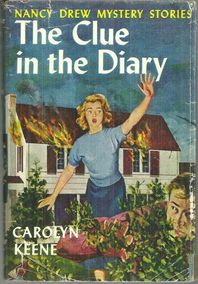 Clue in the Diary by Carolyn Keene Nancy Drew #7 with Dust Jacket