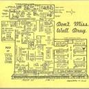 Vintage Menu for Wall Drug, Wall, South Dakota 1972 With History and Map