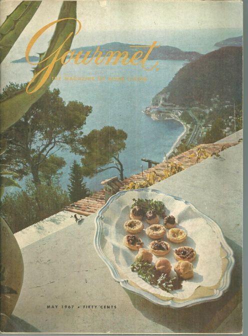 Gourmet Magazine May 1967 On the French Rivera, Cote de Nuits, Istanbul