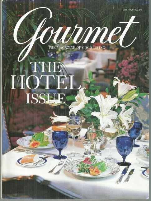 Gourmet Magazine May 1998 The Hotel Issue Ritz-Carlton, Chicago on Cover
