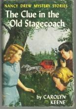 Clue in the Old Stagecoach by Carolyn Keene Nancy Drew #37 with Dust Jacket