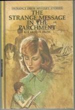 Strange Message in the Parchment by Carolyn Keene Nancy Drew #54 Matte Yellow