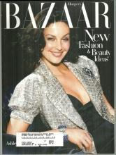 Harper's Bazaar Magazine July 2004 Ashley Judd On Cover/Georgette Mosbacher