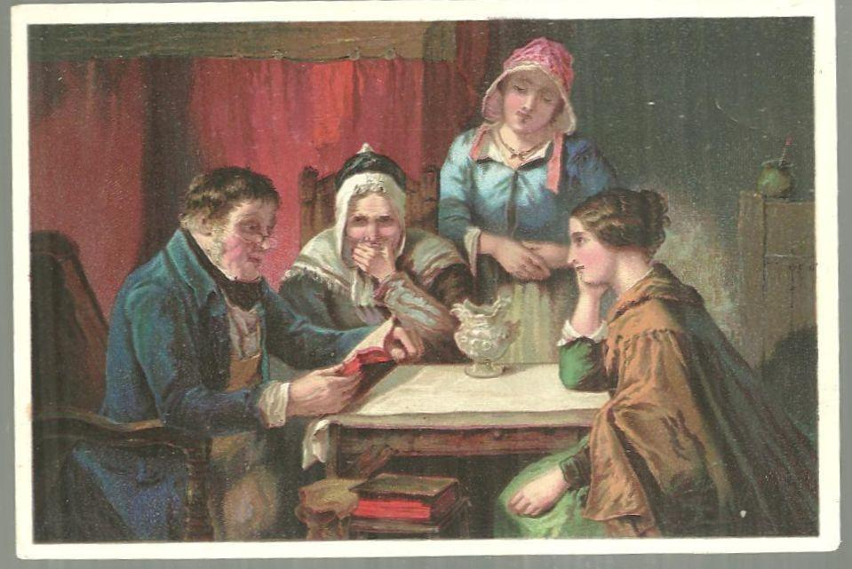 Victorian Trade Card for Dr. D. Jayne's Tonic Vermifuge With Words of Comfort