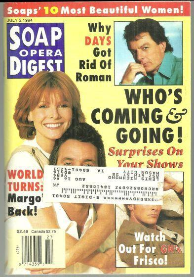 Soap Opera Digest July 5, 1994 Who's Coming and Going on the Cover